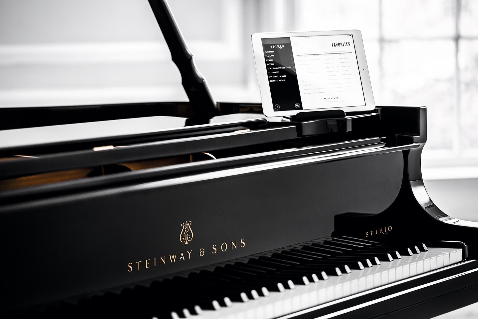 Steinway Spirio Grand Player Piano