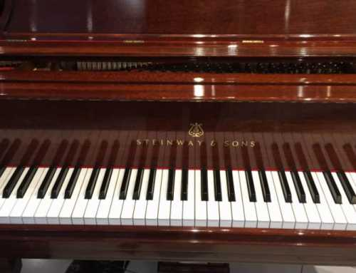 Steinway Model B Mahogany Crown Jewel Collection