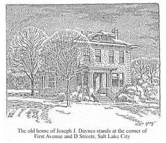 Home of Joseph J. Daynes