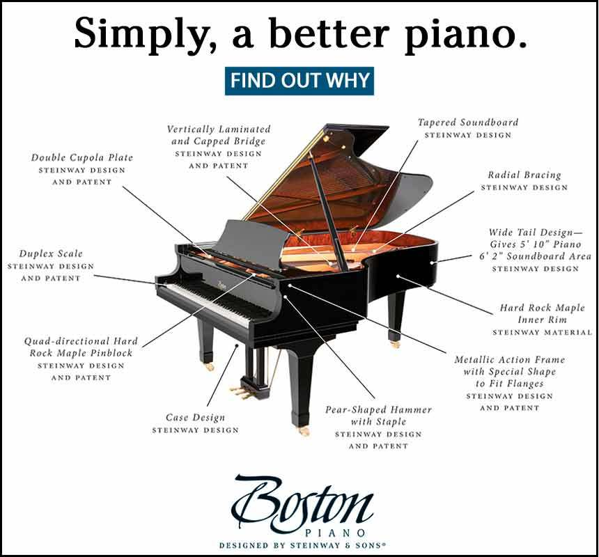 Boston by Steinway - Simply a Better Piano