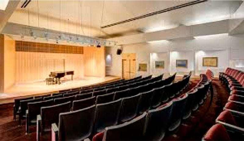 Dumke Recital Hall, University of Utah Music School