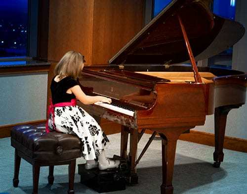 Kathryn Rowley (age 7) Division I: 2nd place, Prelude in C by J.S. Bach