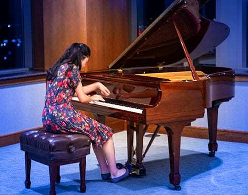 Ariel Wong (age 16) Division III: Honorable Mention, Sonata No. 6, Op. 82, IV: Vivace by Prokofiev
