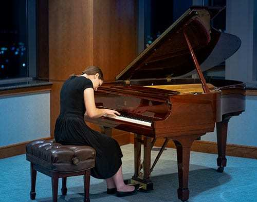 """Elizabeth Van Dam (age 17) Division III: 2nd place, Andante Maestoso from """"The Nutcracker"""" by Tchaikovsky"""
