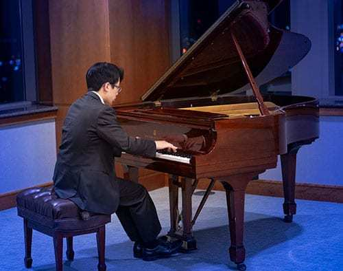 John Zhao (age 16) Division III: 3rd Place, Hungarian Rhapsody No. 12 in C# Minor by Liszt